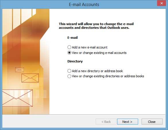 Outlook 2003 Settings 2