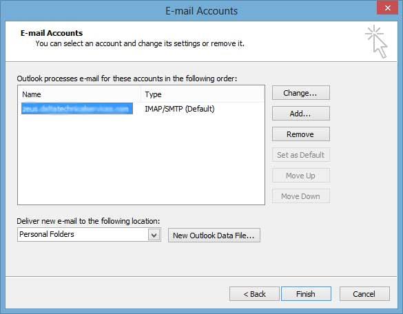Outlook 2003 Setup 3