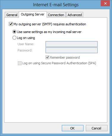 Outlook 2003 setup 5