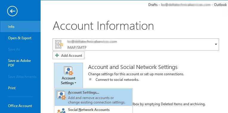Outlook 2013 Setup 2