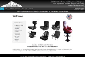Industrial Seating Inc Web Site Thumbnail