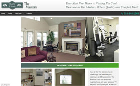 The Masters Apartments Web Site Thumbnail