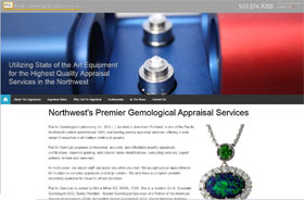 Pacific Gem Lab Web Site Thumbnail