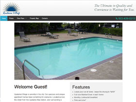 Quatama Village Apartments Web Site Thumbnail