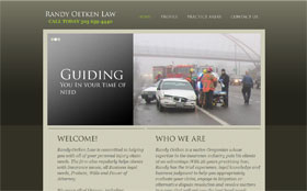 Randy Oetken Law Web Site Thumbnail